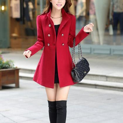 Trendy fashion Slim Ladies Color Lo..