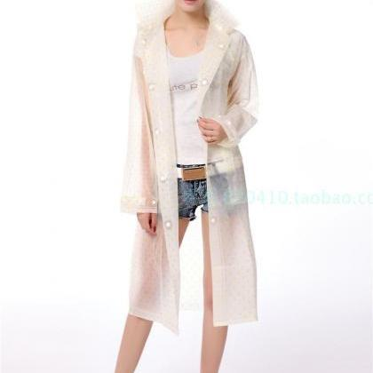 Clear Rain Jacket Rainwear Lovely L..