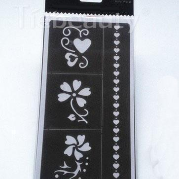 India Style Henna Body Art Decal Te..