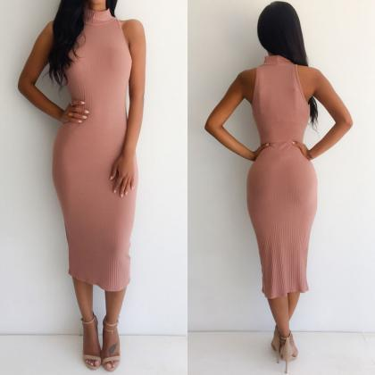 New Women Bandage Bodycon Sleeveles..