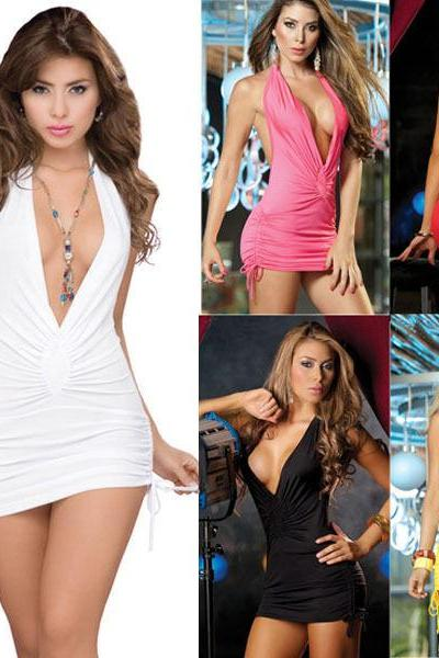 Hot Women Sexy Queen backless Party Night Club Evening Dress bodycon Clubwear